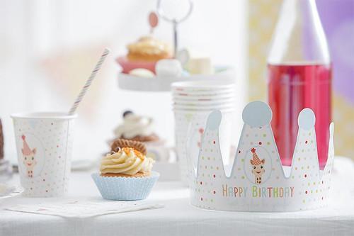 Sophie la Girafe Birthday set party kit for 12 people
