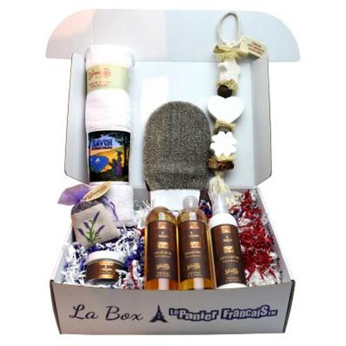 French Luxury Gift Box Spa Organic Argan Oil Cote d'Azur for Women
