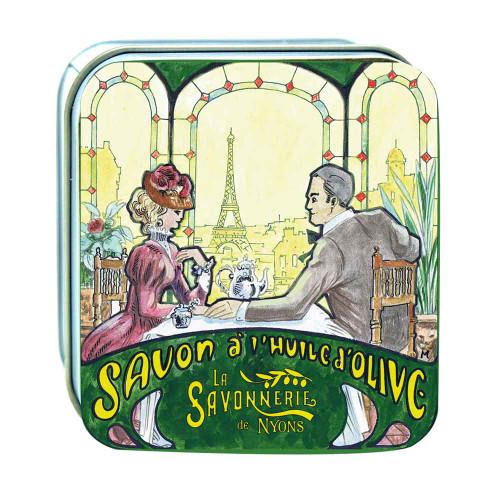 La Savonnerie de Nyons Metal Box Romantic Dinner in Paris 100g/3.5 oz