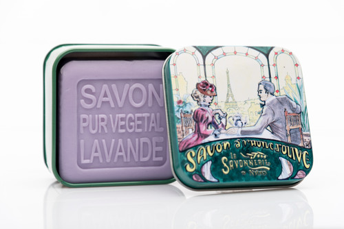 La Savonnerie de Nyons Metal Box Romantic Dinner in Paris 100g/3.5 oz