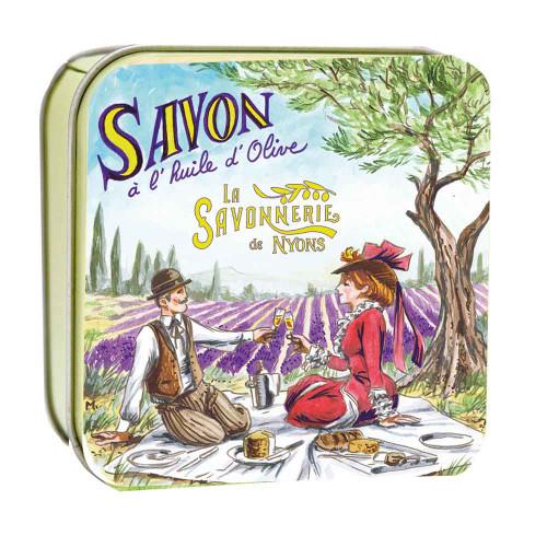 La Savonnerie de Nyons Metal Box Romantic Picnic 100g/3.52oz