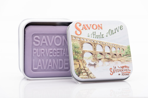 La Savonnerie de Nyons Metal Box Le Gard Bridge 100g/ 3.5 oz
