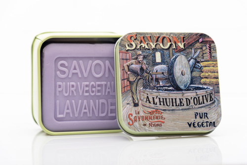 La Savonnerie de Nyons Metal Box Oil Mill 100g/ 3.5 oz