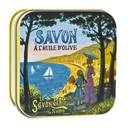 La Savonnerie de Nyons Metal Box The French Riviera 100 g/3.52oz