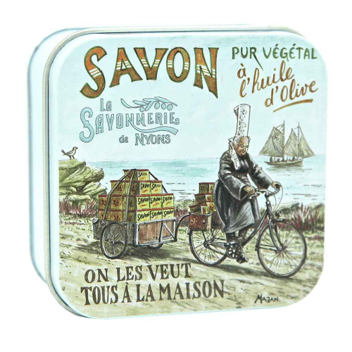 La Savonnerie de Nyons Metal Box The Bigouden 100g/ 3.52oz
