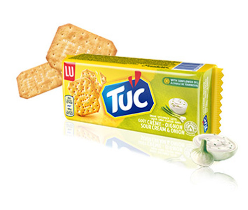 LU Tuc Crackers Sour cream & onion 100g/3.5oz