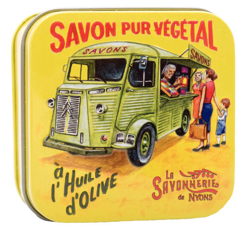 La Savonnerie de Nyons Metal Box The Old Van 100g/3.5 oz