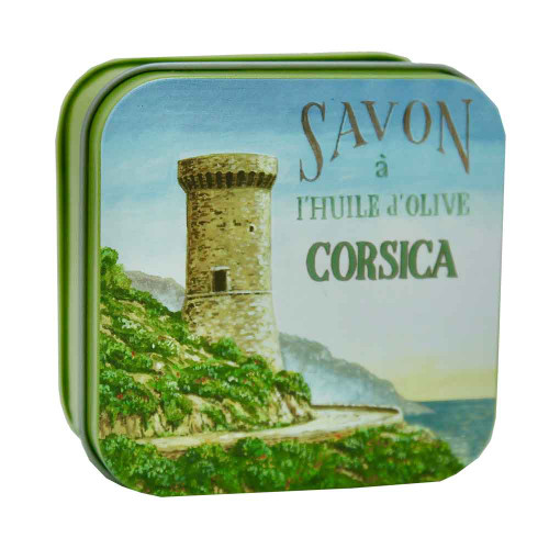 La Savonnerie de Nyons Metal Box Corsica The Genoese Tower 100g/3.5 oz