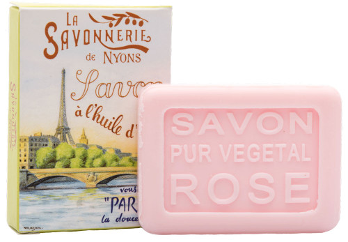 La Savonnerie de Nyons Guest Soap Paris Seine River Rose 25g/0.88oz