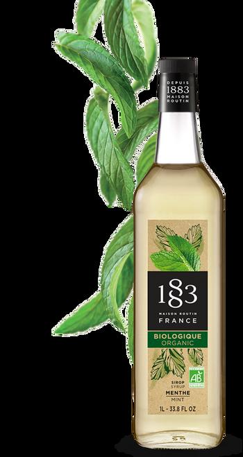 1883 Syrup  Mint Organic 1L /33.8 fl oz