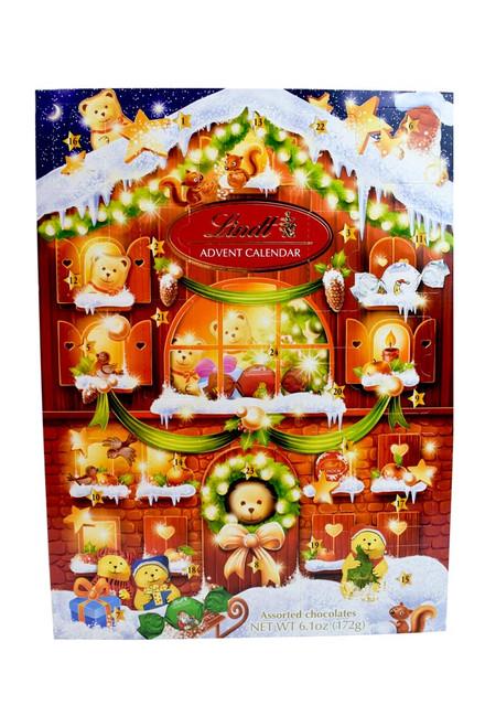Lindt Holiday Chocolate Bear Advent Calendar 172g/6.1oz