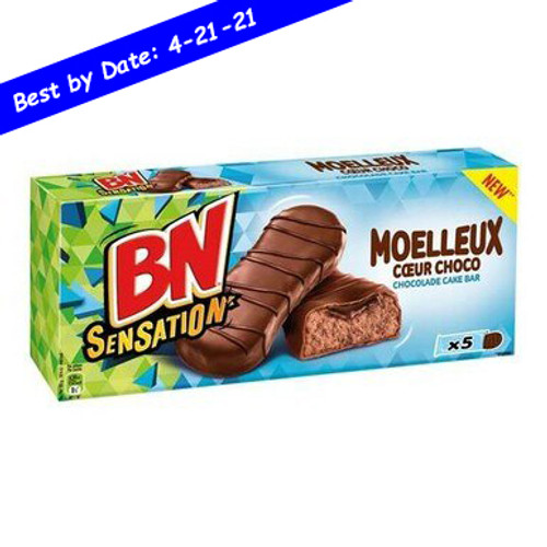 BN Sensation Chocolate Cake Bar x5 170G/6oz