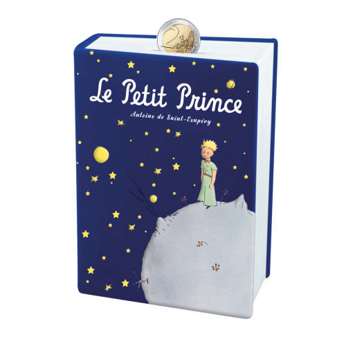 Le Petit Prince Piggy Bank Blue Book