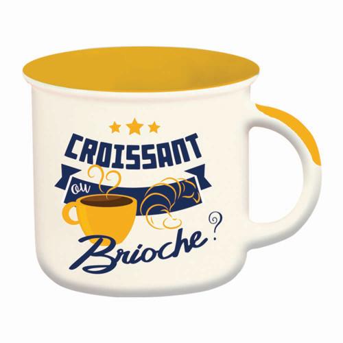 Mug Croissant ou Brioche