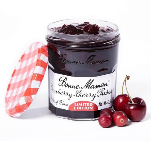 Bonne Maman Limited-Edition Cranberry-Cherry Preserves 370g/13oz