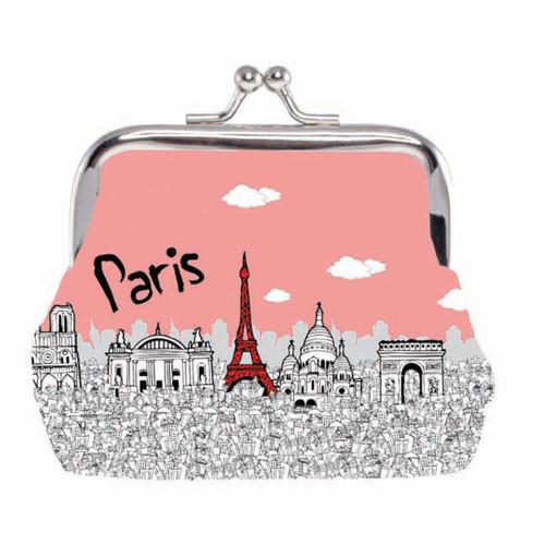 Paris Pastel Wallet