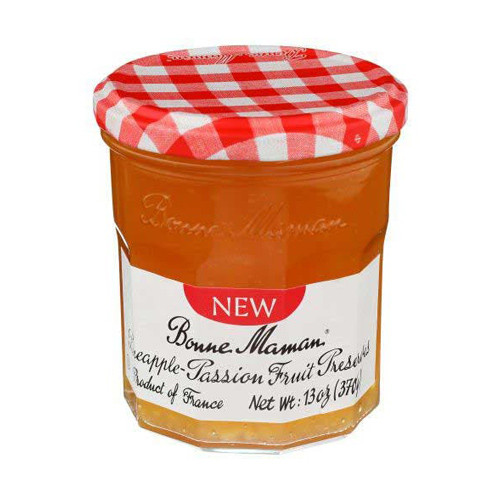 Bonne Maman Pineapple-Passion Fruit Preserves 370g/13oz