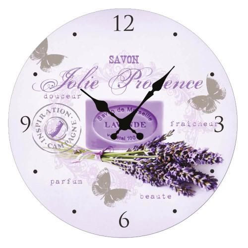 Clock Pretty Provence 11 inch