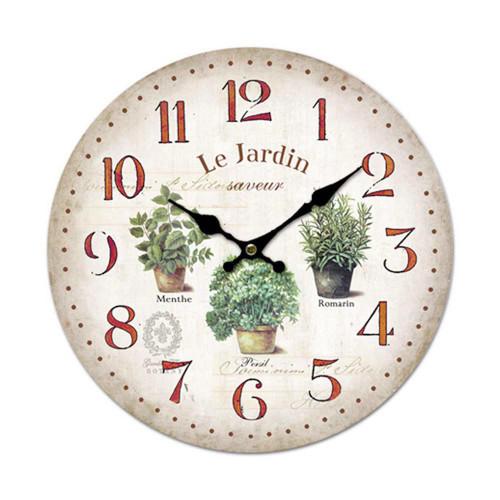 Clock Garden 11 inch