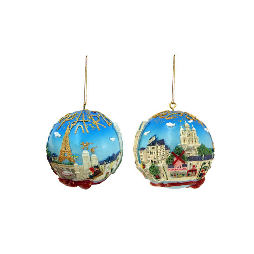 Paris Ornaments