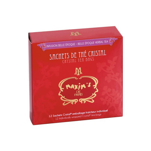 "Maxim's Herbal Tea in Crystal Bag ""Belle Epoque"" 24g/0.85oz"