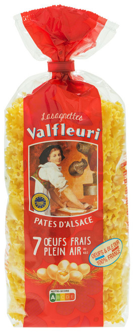 Valfleuri Lasagnettes 250g/8.8oz