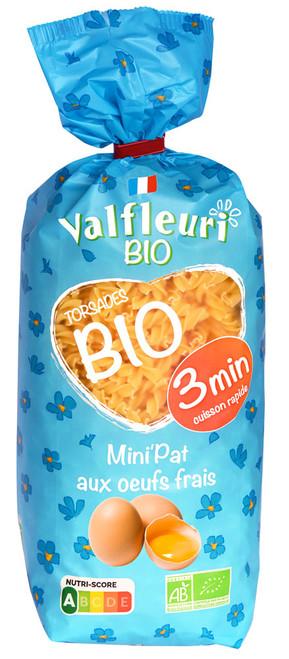 Valfleuri Organic Mini Twists 400g/14oz