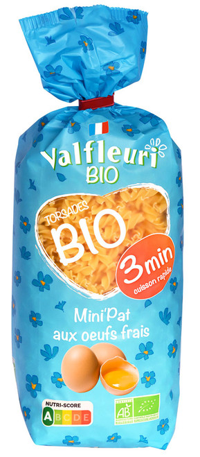 Valfleuri Organic Mini Twists 400g/14oz