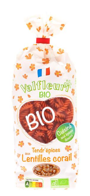 Valfleuri Organic Red Lentils 250g/8.8oz