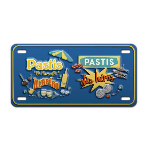 Pastis Vintage Metal Plate