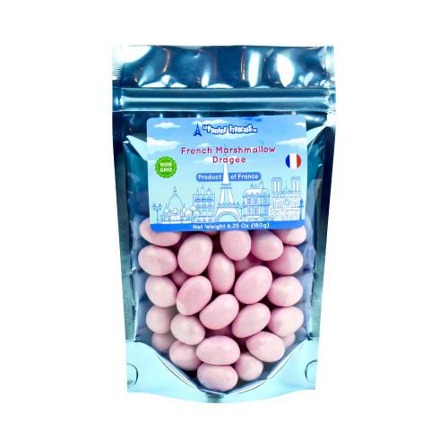 Le panier Francais Pink Vanilla Marshmallow Dragee 180g/6.36oz