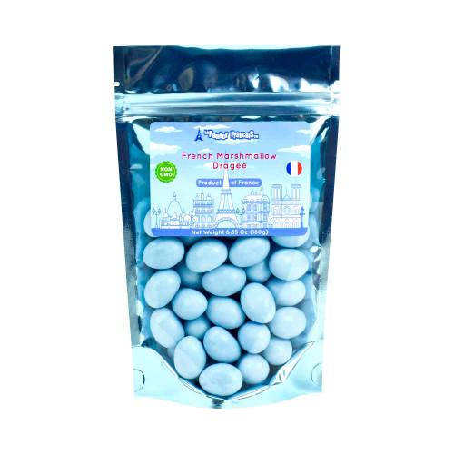 Le panier Francais Blue Vanilla Marshmallow Dragee 180g/6.36oz