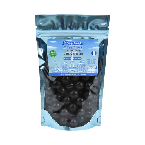 Le Panier Francais crispy cereals coated with dark chocolate  180g/6.36oz