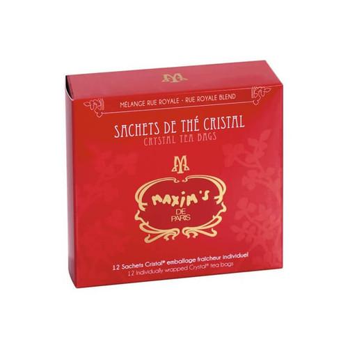 "Maxim's Tea ""Rue Royale"" Blend in Crystal Bag 24g/0.85oz"