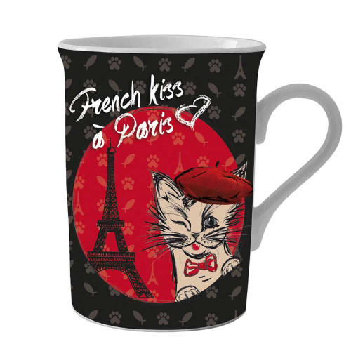 Mug French Kiss Paris