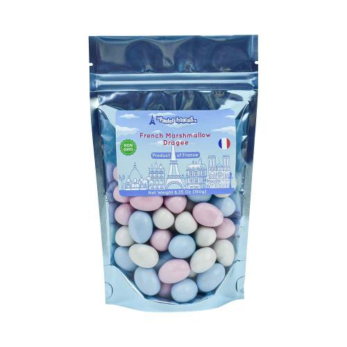 Le panier Francais Multicolor Marshmallow Dragee 180g/6.36oz
