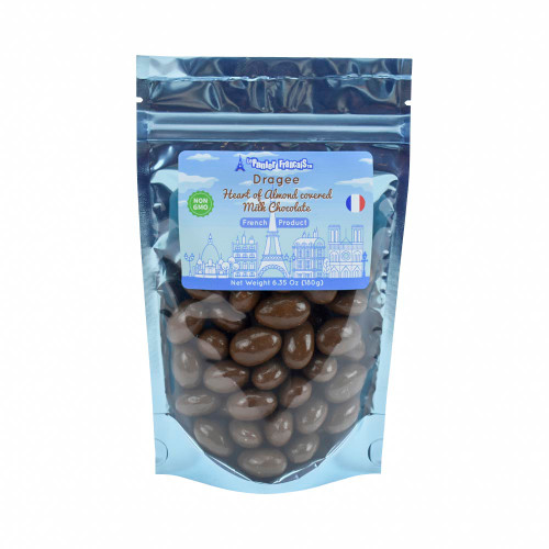Le Panier Francais French Heart of Almond covered Milk Chocolate 180g/6.35oz