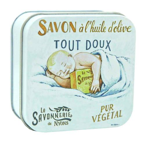 La Savonnerie de Nyons Square Tin Baby Sweetness 100g/ 3.52oz