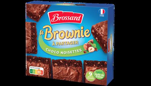 Brossard Brownie Choco Hazelnuts 285g/10oz