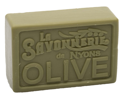 La Savonnerie de Nyons Green Olive Soap 100g/3.52 oz