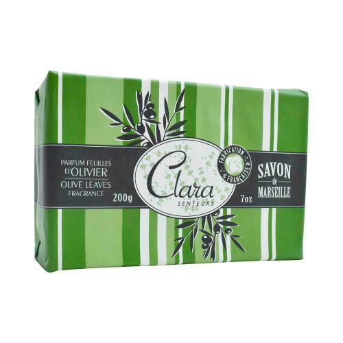 Clara en Provence Olive Leaves Soap 200g/7oz