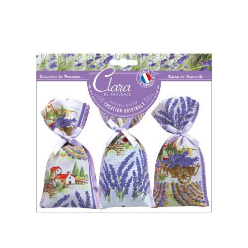 Clara en Provence 3 Lavandin Bags