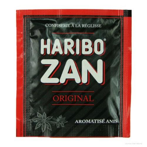 Haribo Zan Anis Flavored Licorice 12g/0.43oz