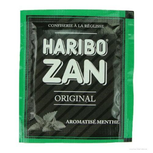 Haribo Zan Mint Flavored Licorice 12g/0.43oz
