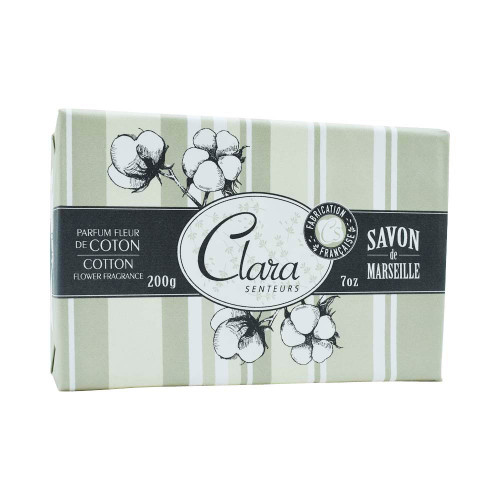 Clara en Provence Cotton Bar Soap 200g/7oz