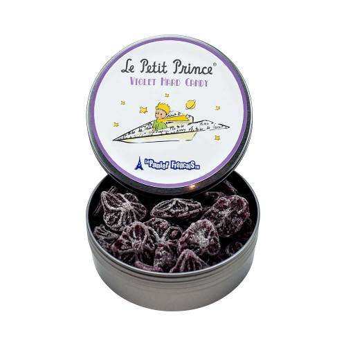 Le Petit Prince by Le Panier Francais Violet Hard Candy Tin 80g/2.80 oz