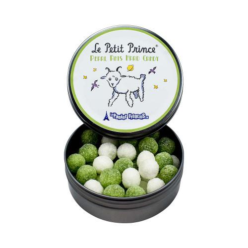 Le Petit Prince by Le Panier Francais Pearl Anis Hard Candy Tin 80g/2.80 oz