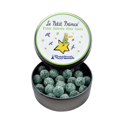 Le Petit Prince by Le Panier Francais Pearl Verbena Hard Candy Tin 80g/2.80 oz
