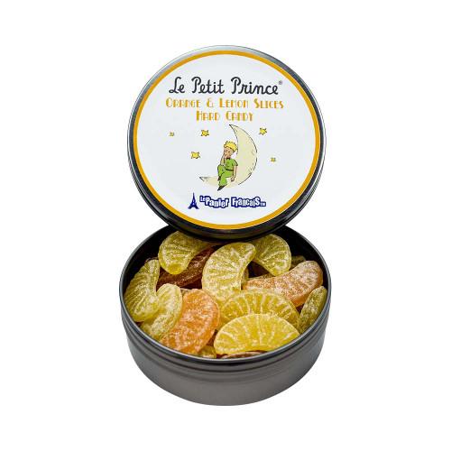 Le Petit Prince by Le Panier Francais Orange & Lemon Slices Hard Candy Tin 80g/2.80 oz
