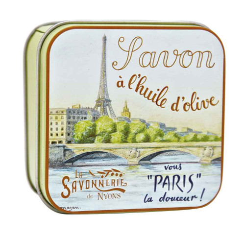 La Savonnerie de Nyons Square Tin La Seine 100g/3.52oz